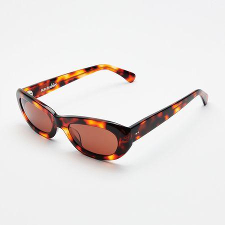 Unisex Sun Buddies Miuccia Sunglasses - Leopard