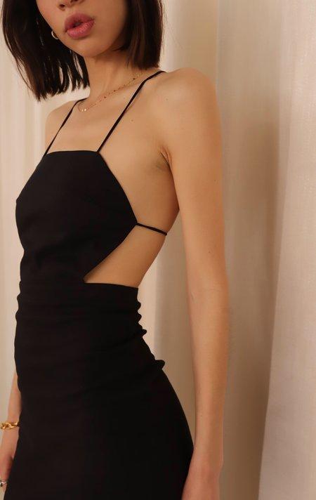 Paloma Wool Tiffany Strappy Dress - Black