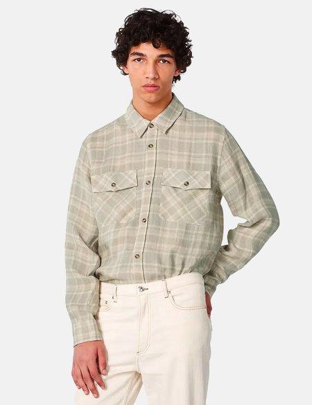 A.P.C. Conrad Check Overshirt - Chalk