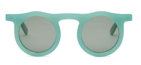 Carla Colour Lind Sunglasses - Seafoam Green