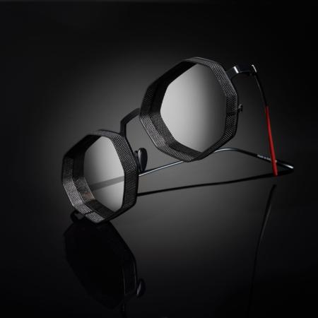 unisex VYSEN Eyewear Boby B-5 Sunglasses - Black Matte Frame