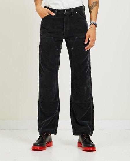 SAMUEL ZELIG Corduroy Double Knee Pant - Black