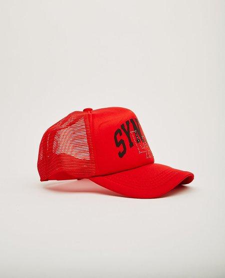 SYNTH La-La Land Trucker Cap - Red