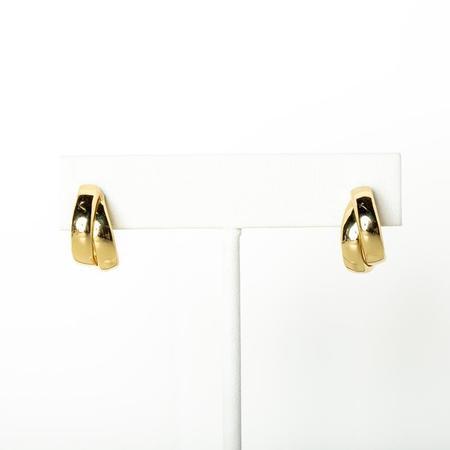 Jonesy Wood Ellery Hoop Earrings - GOLD