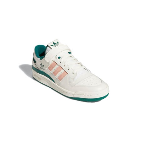 adidas Forum 84 Low Sneakers - Off White/Green