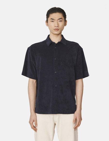 YMC Screech Shirt - Navy Blue