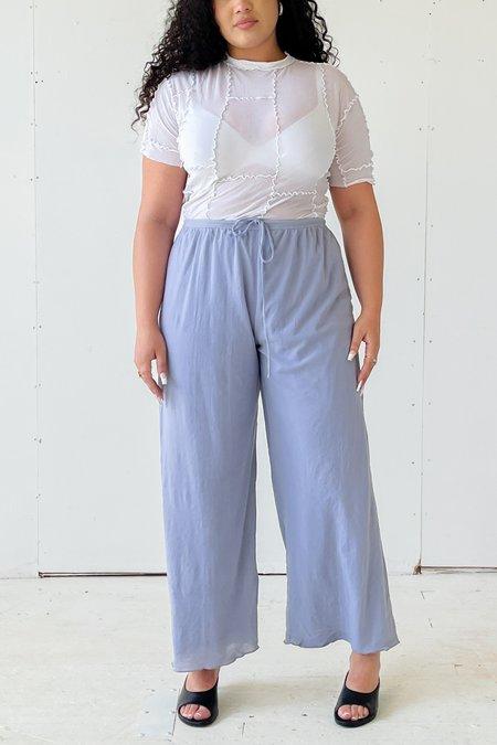 Vintage Mesh Easy Pants - Periwinkle