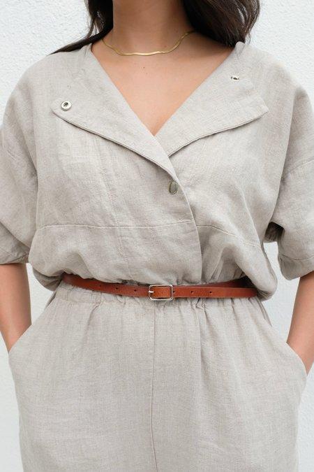 The Stowe 1/2 Inch Belt - Chestnut