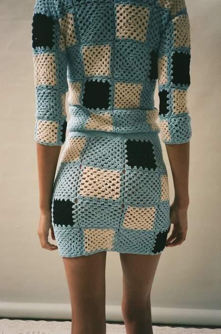 Lickyboy Romy Knit Skirt - Blue