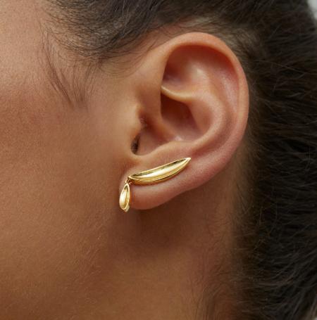Jenny Bird Studio Climber earring - Gold
