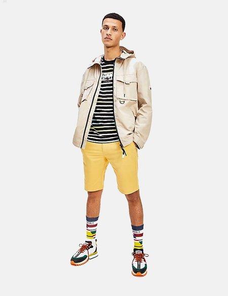 Tommy Jeans Lightweight Cotton Parka caot - Beige