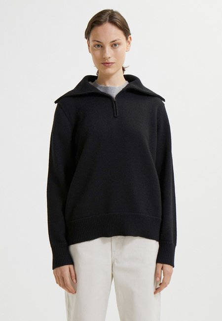Wood Wood Classic Merino Jumper sweater - black