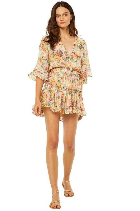 Misa Los Angeles Marion Skirt - Bahara Floral