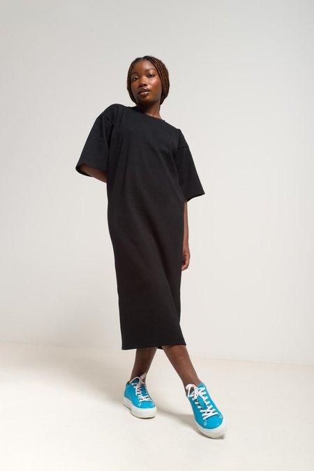 ODEYALO BARBARA DRESS - NOIR