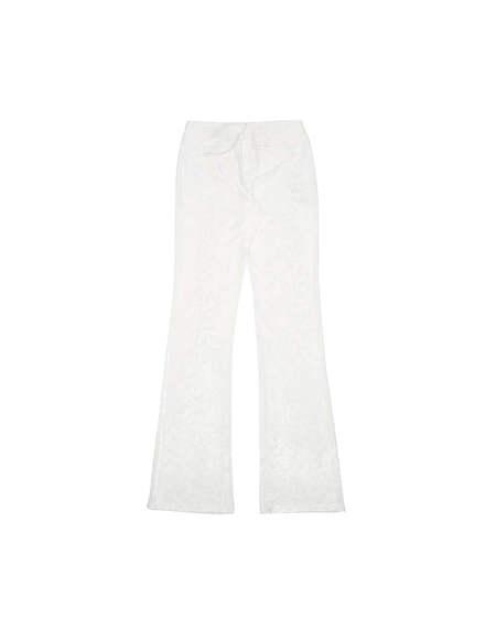MISBHV Velvet Pants - White