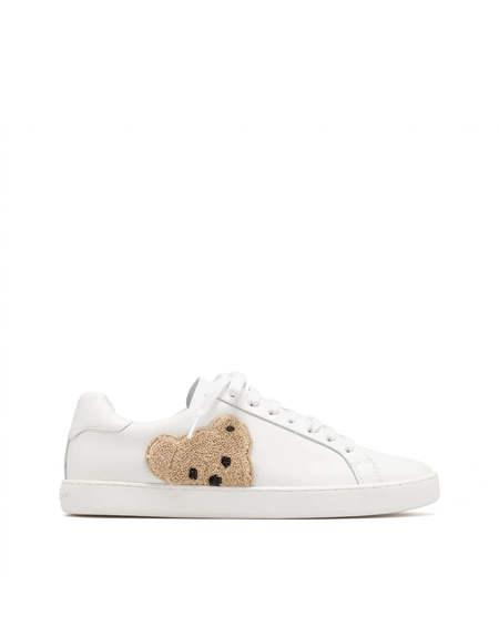 Palm Angels teddy Bear Shoe - White