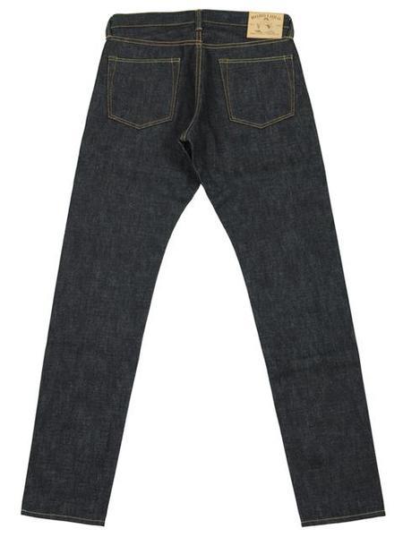 Momotaro Jeans 12oz Zimbabwe Cotton Denim HT - Indigo