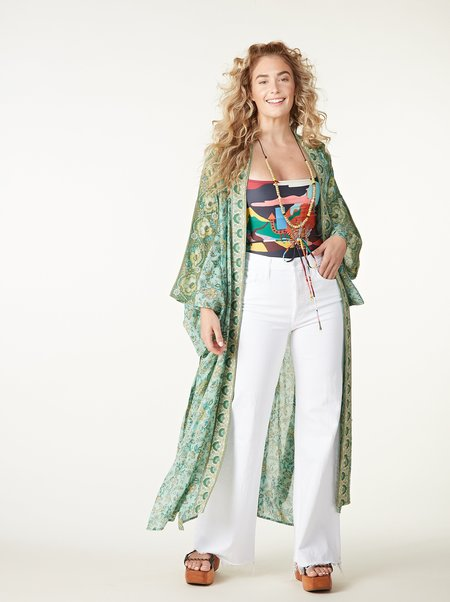 SPELL & THE GYPSY COLLECTIVE Folk Song Robe - SAGE