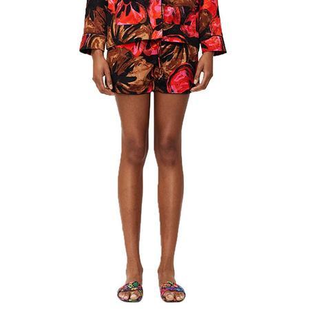 Stine Goya Dane Pajama Jacquard Shorts - Opium