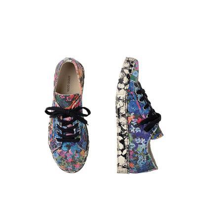 Stine Goya Eneko Cotton Canvas Sneakers - 60's Allover
