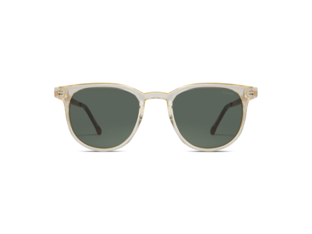 KOMONO Francis Metal Prosecco Sunglasses - Green Smoke