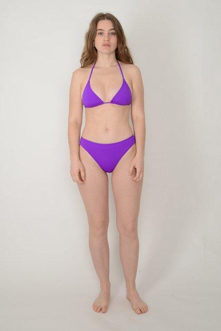 NU SWIM Grape Drip Top - purple