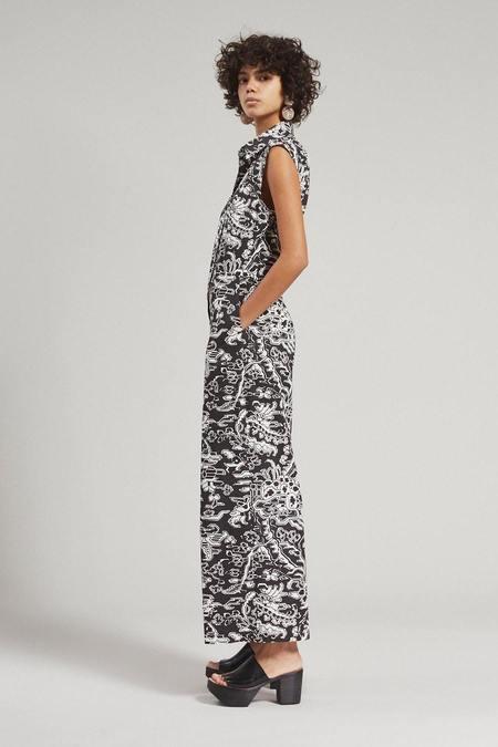 Rachel Comey Silo Jumpsuit - Ornamental Black
