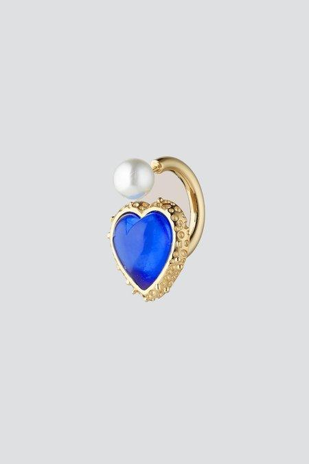 Safsafu Miss Limelight Earring - Blue