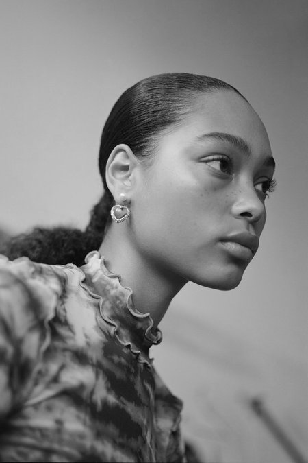 Safsafu Miss Limelight Earring - Neon Green