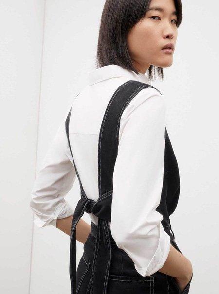 Kowtow Tokyo Jumpsuit - Black Denim