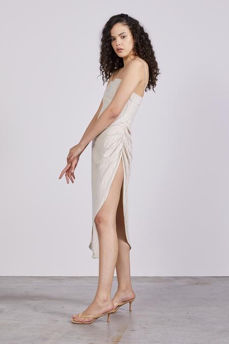 Third Form Picnic Stripe Tuck Up Dress