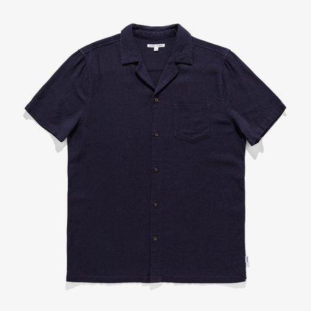 Banks Journal Brighton S/S Shirt - Dirty Denim