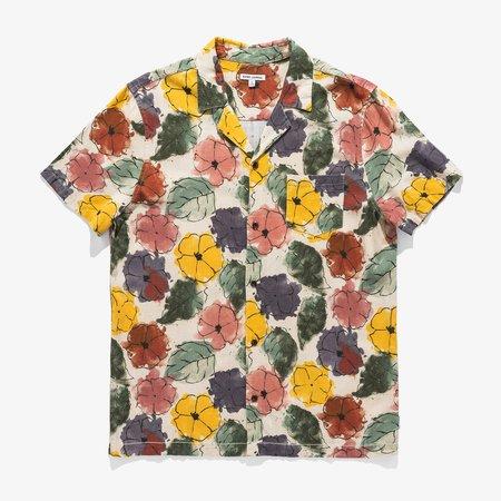 Banks Journal Soho S/S Shirt - Bone
