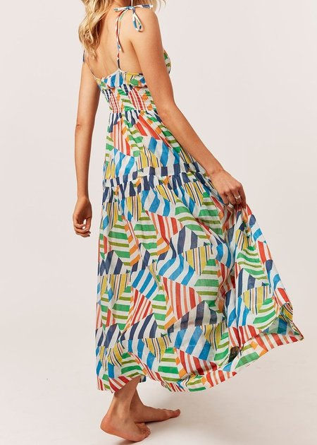 Solid and Striped Melody Dress - Broken Stripes