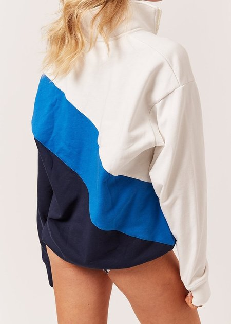 Solid And Striped Pull-Over