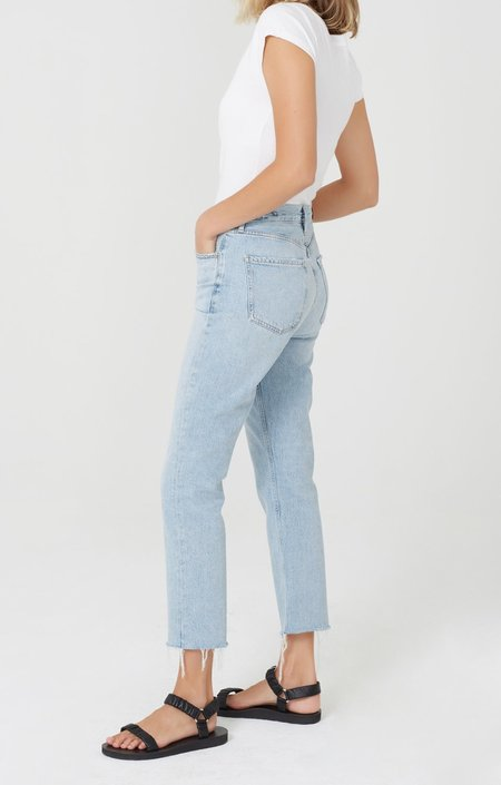 Citizens of Humanity Charlotte Crop High Rise Straight Fit DENIM - Ever After
