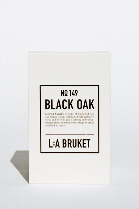 139 project Scented candle - Black Oak