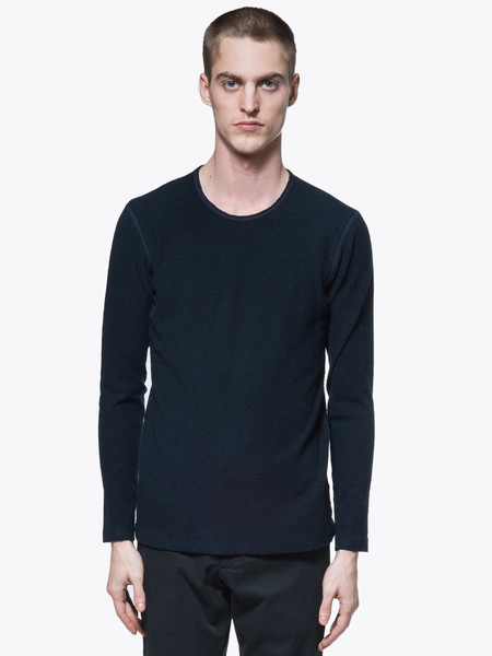 Wings + Horns Loop Knit Long Sleeve