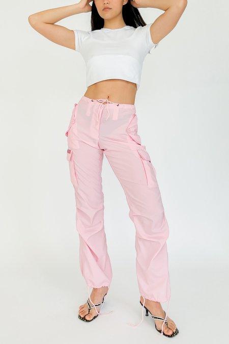 Vintage UFO Cargo Pants - Pink
