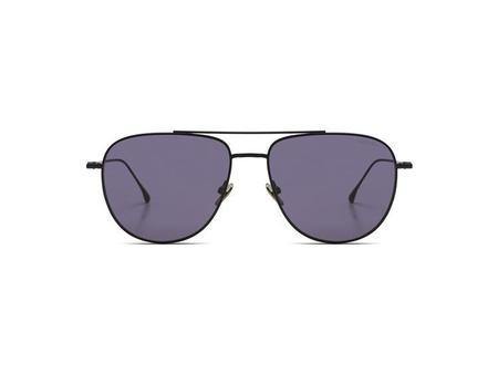KOMONO Curtis Sunglasses - Silver Smoke