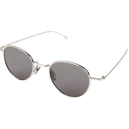 KOMONO Hailey Sunglasses - Silver Smoke