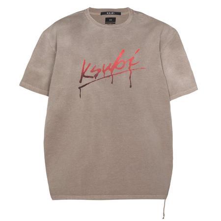 Ksubi Flint S/S Tee - Grey