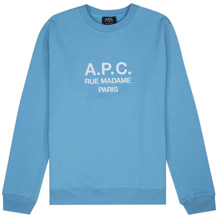 A.P.C. Sweat Rufus - Ecru Chine