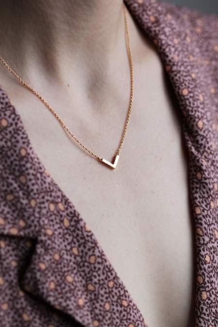 MAKSYM COLCHEVJ NECKLACE - STERLING SILVER/14k gold