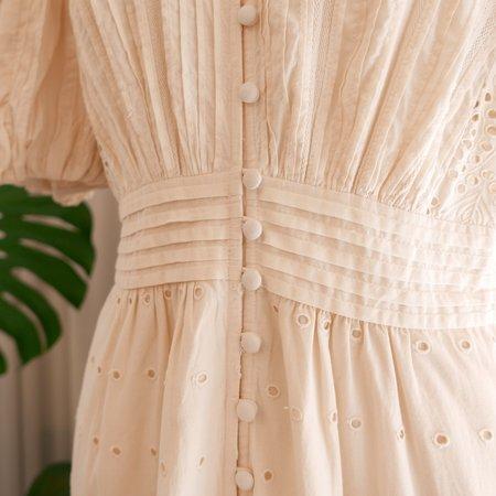 Sea NY Everleigh Eyelet Dress - Ecru
