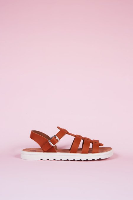 """""""INTENTIONALLY __________."""" Direct Sandals - Tan"""