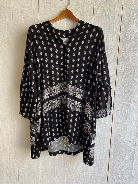 Conrado Jasmine Tunic - Black Print