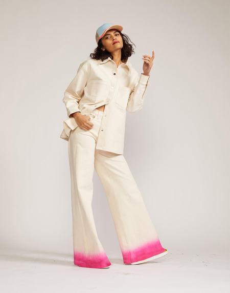 Cynthia Rowley Dip Dye Jeans - WTPNK
