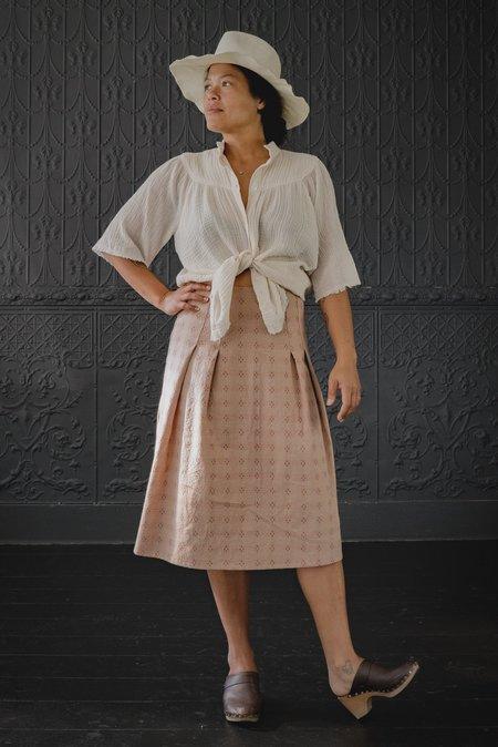 Pamela Mayer Fold Skirt - rose