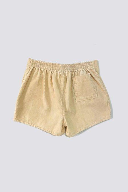 Vintage Corduroy Shorts - bone